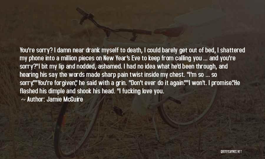 Shattered Pieces Quotes By Jamie McGuire