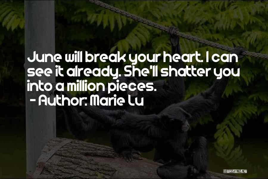 Shattered Pieces Quotes By Marie Lu