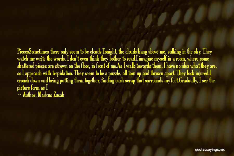 Shattered Pieces Quotes By Markus Zusak