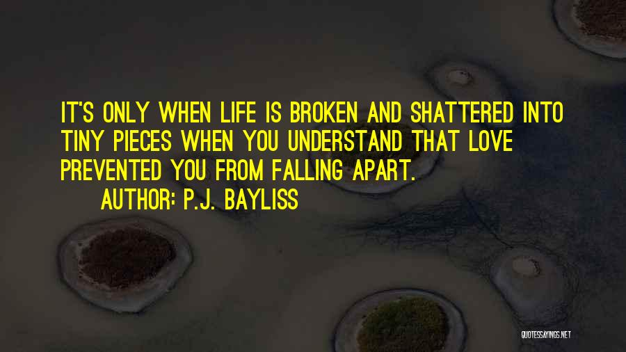 Shattered Pieces Quotes By P.J. Bayliss