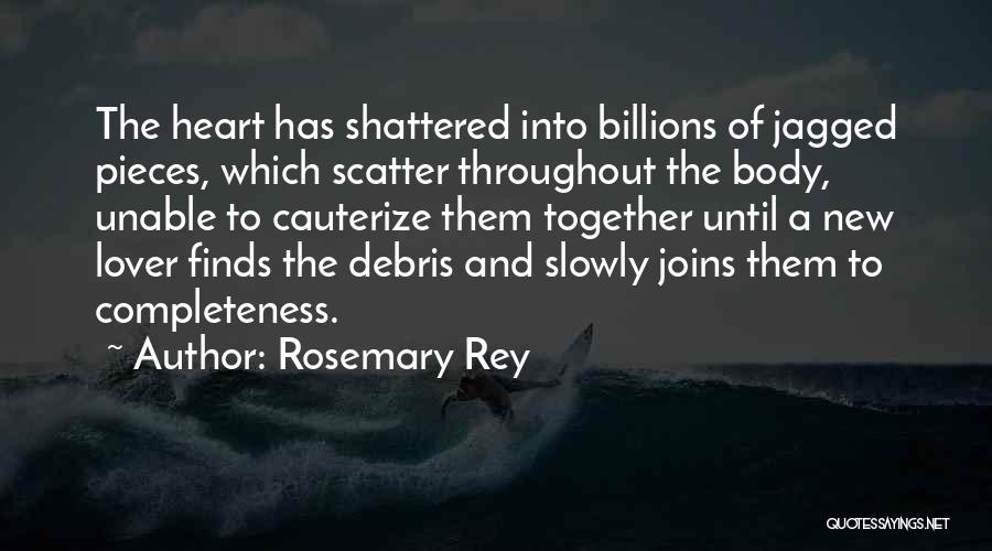 Shattered Pieces Quotes By Rosemary Rey