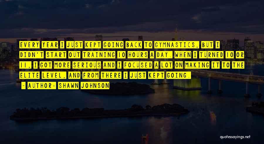 Shawn Johnson Quotes 2038172