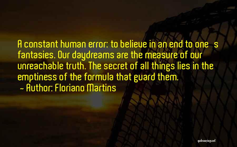 She Daydreams Quotes By Floriano Martins