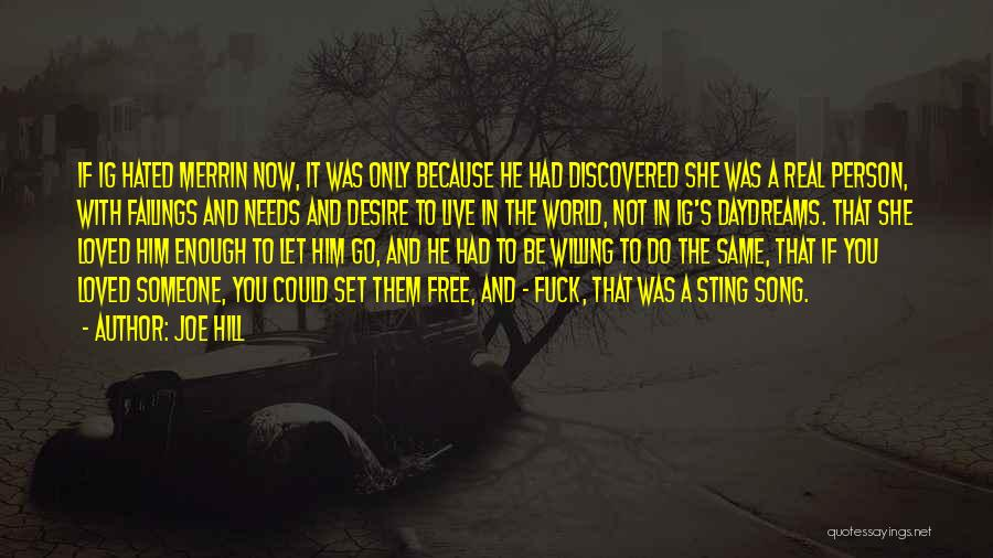 She Daydreams Quotes By Joe Hill