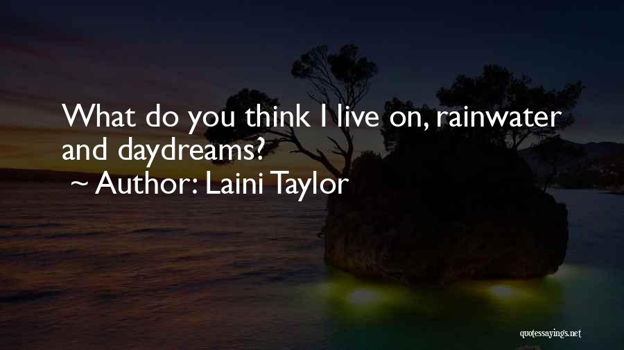 She Daydreams Quotes By Laini Taylor