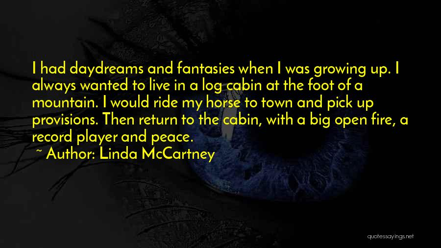 She Daydreams Quotes By Linda McCartney