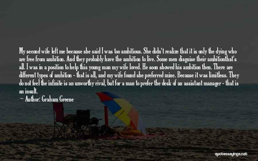 She Is Not Mine Quotes By Graham Greene