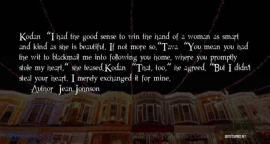 She Is Not Mine Quotes By Jean Johnson