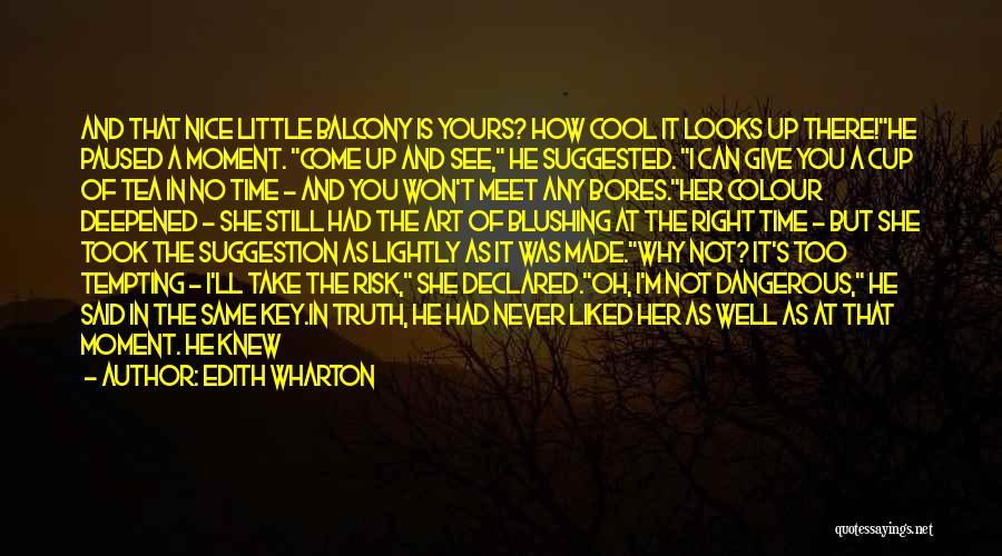 She Is Not Well Quotes By Edith Wharton