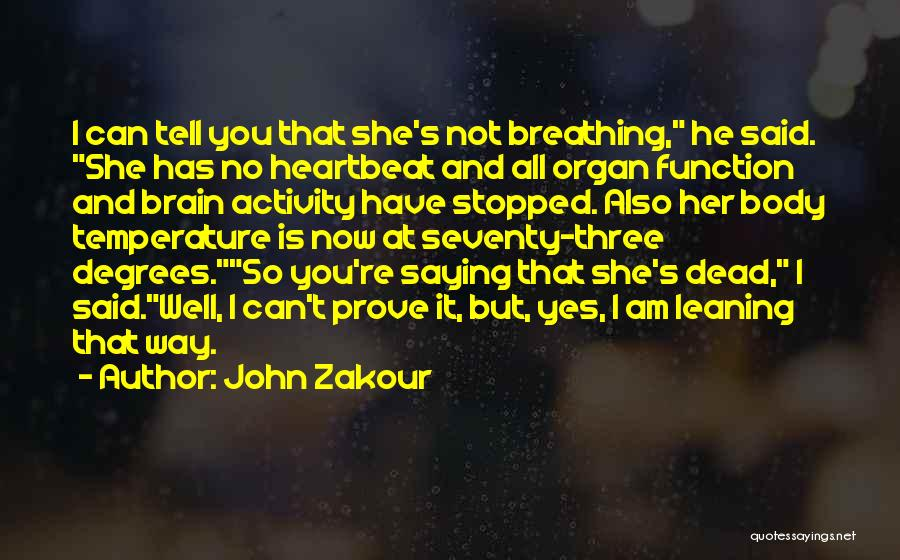 She Is Not Well Quotes By John Zakour