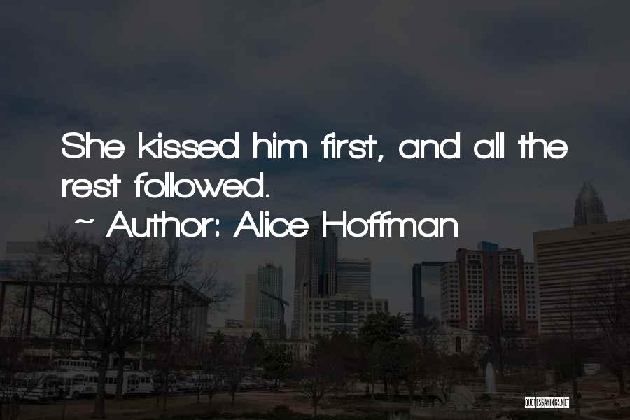 She Short Quotes By Alice Hoffman