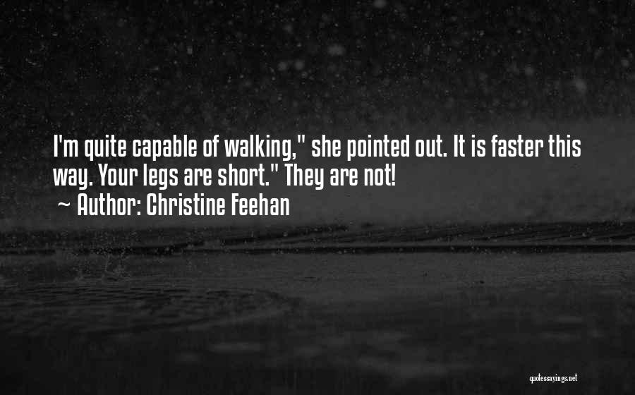 She Short Quotes By Christine Feehan