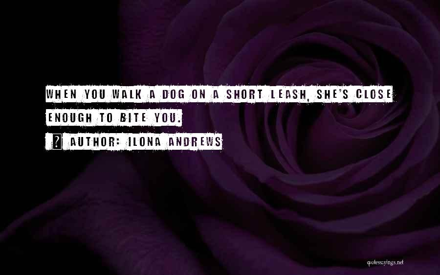 She Short Quotes By Ilona Andrews