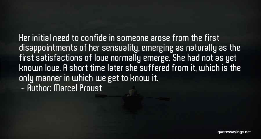 She Short Quotes By Marcel Proust