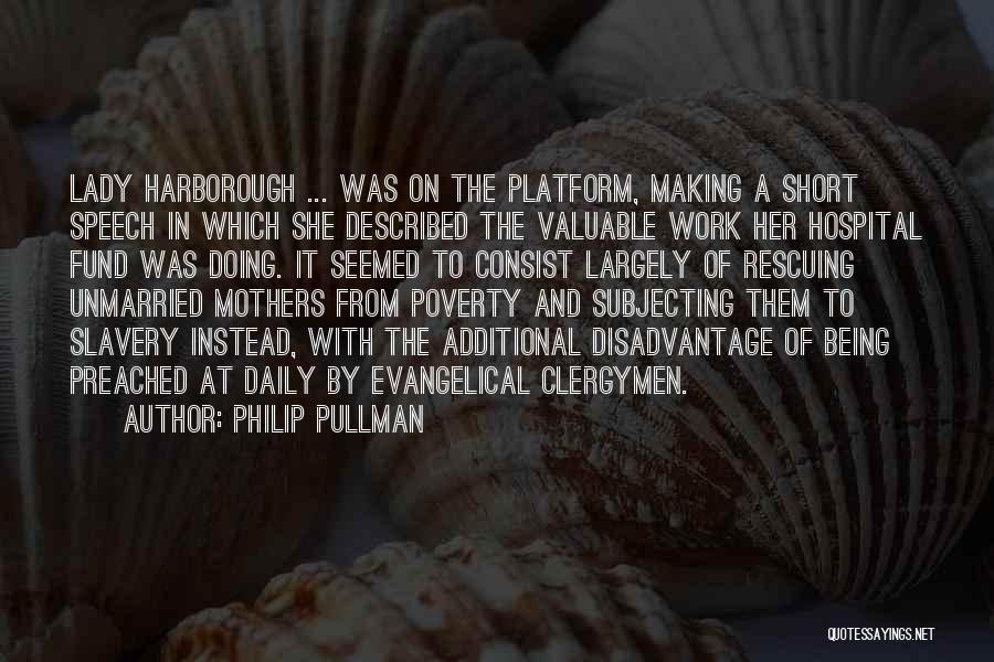 She Short Quotes By Philip Pullman