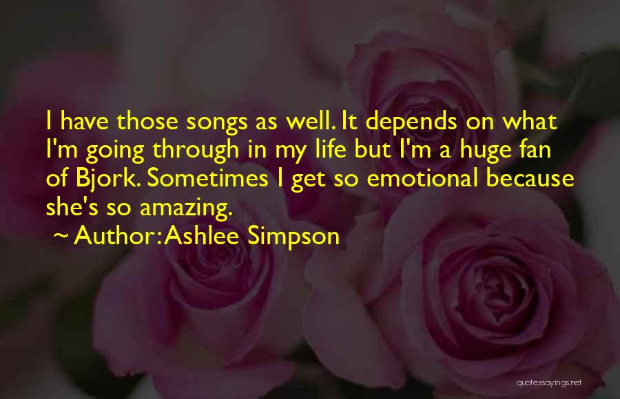 She So Amazing Quotes By Ashlee Simpson