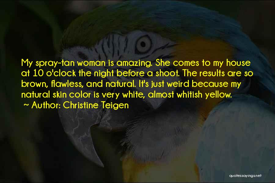 She So Amazing Quotes By Christine Teigen