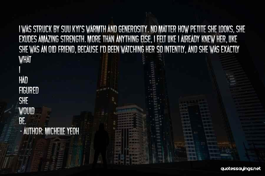She So Amazing Quotes By Michelle Yeoh