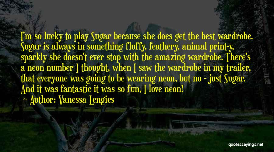 She So Amazing Quotes By Vanessa Lengies