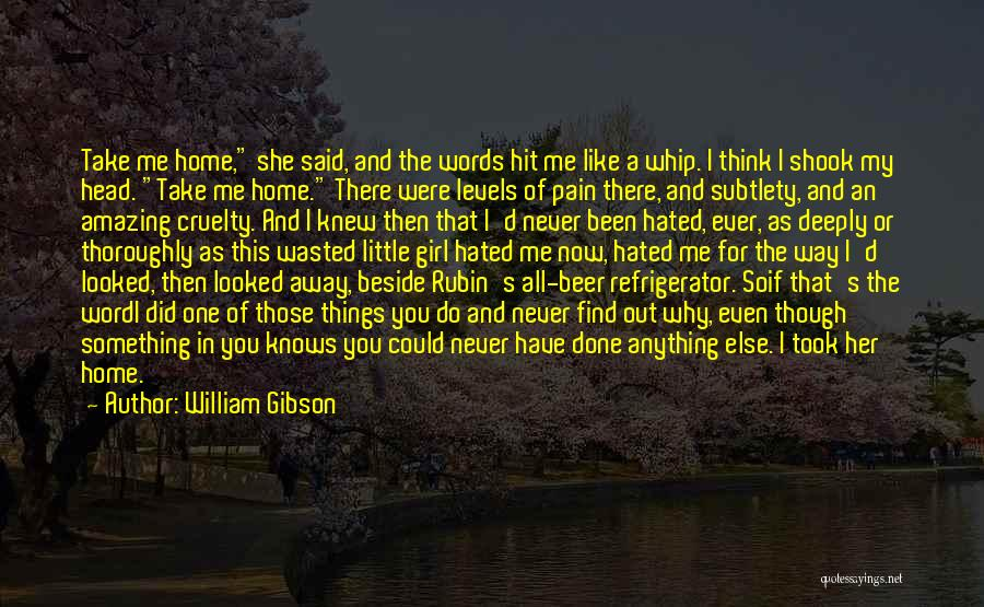 She So Amazing Quotes By William Gibson