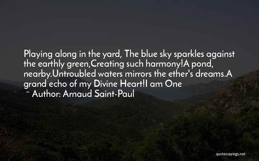 She Sparkles Quotes By Arnaud Saint-Paul