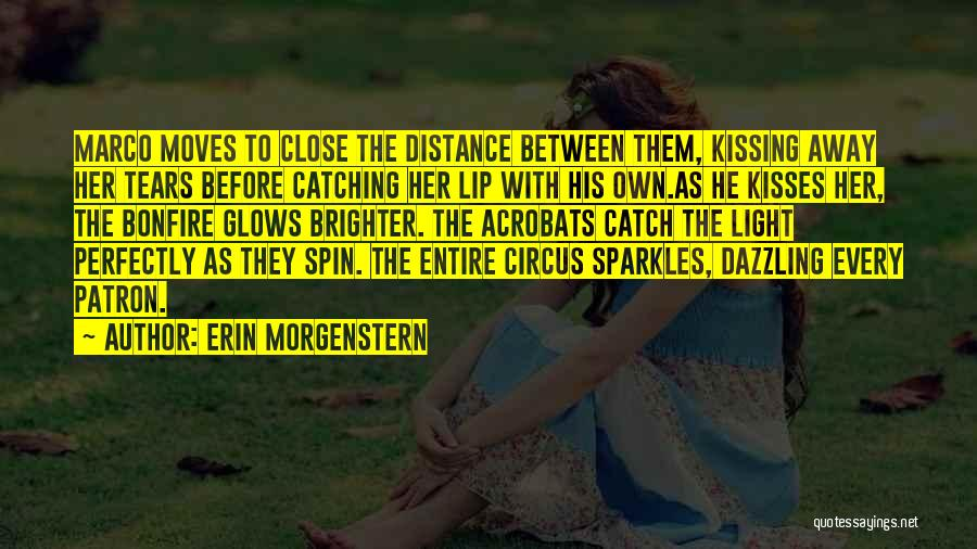 She Sparkles Quotes By Erin Morgenstern