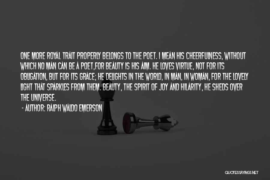 She Sparkles Quotes By Ralph Waldo Emerson