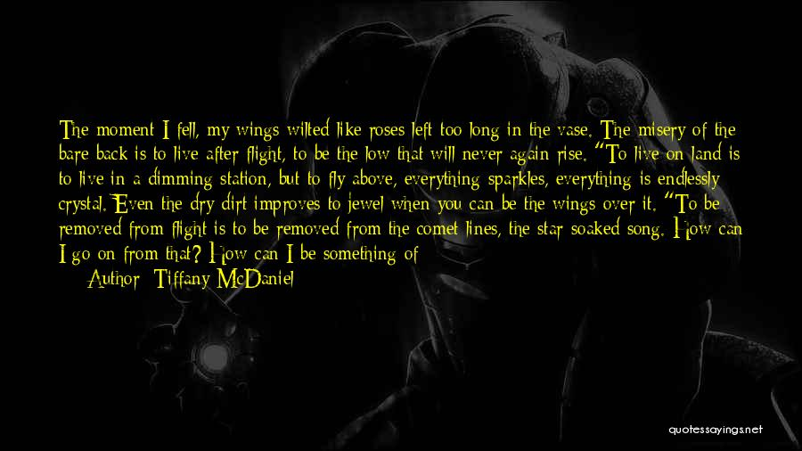She Sparkles Quotes By Tiffany McDaniel