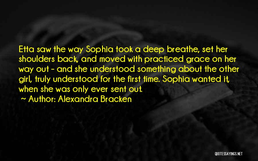 She The Girl Quotes By Alexandra Bracken