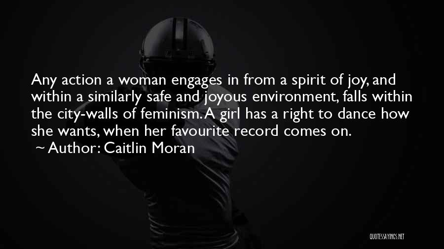 She The Girl Quotes By Caitlin Moran