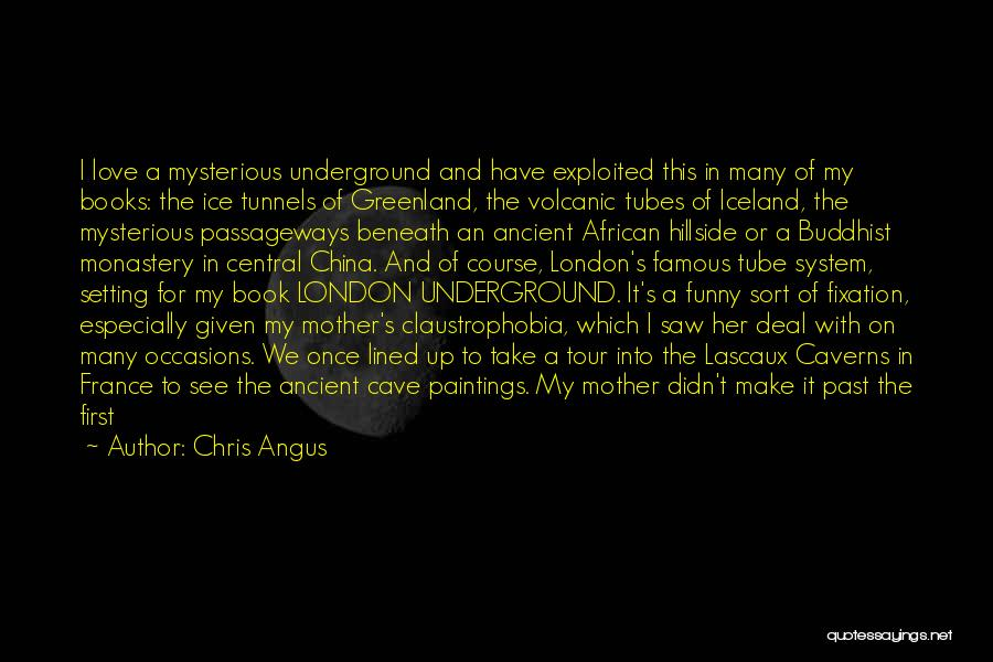 She Used To Love Me Quotes By Chris Angus