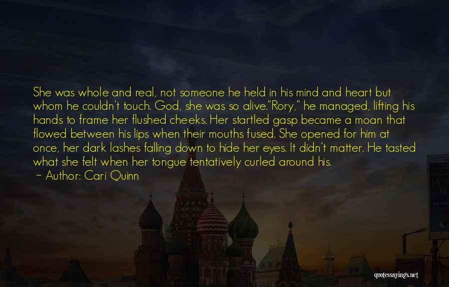 She Was Falling For Him Quotes By Cari Quinn