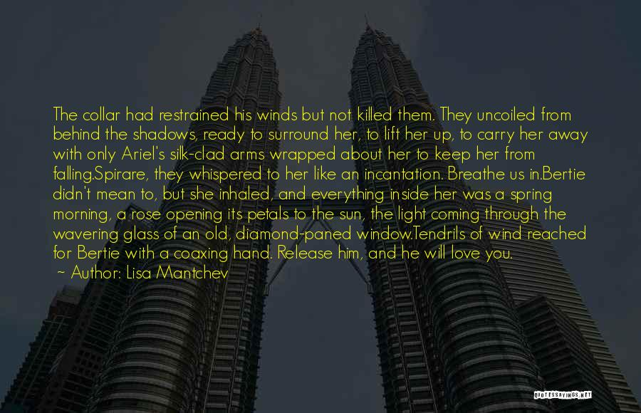 She Was Falling For Him Quotes By Lisa Mantchev