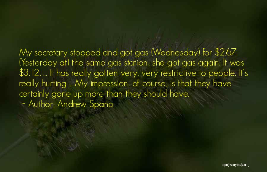 She Was Hurt Quotes By Andrew Spano