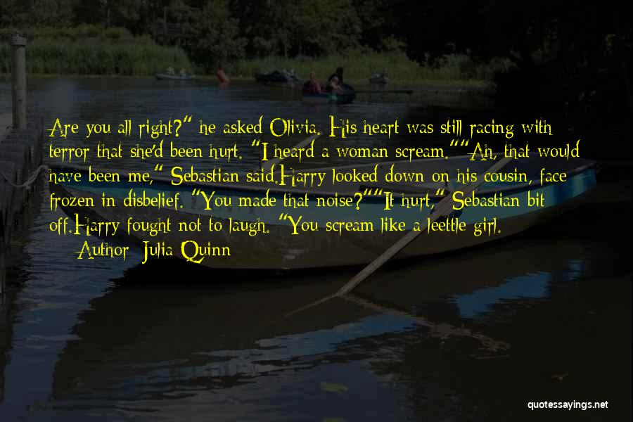 She Was Hurt Quotes By Julia Quinn