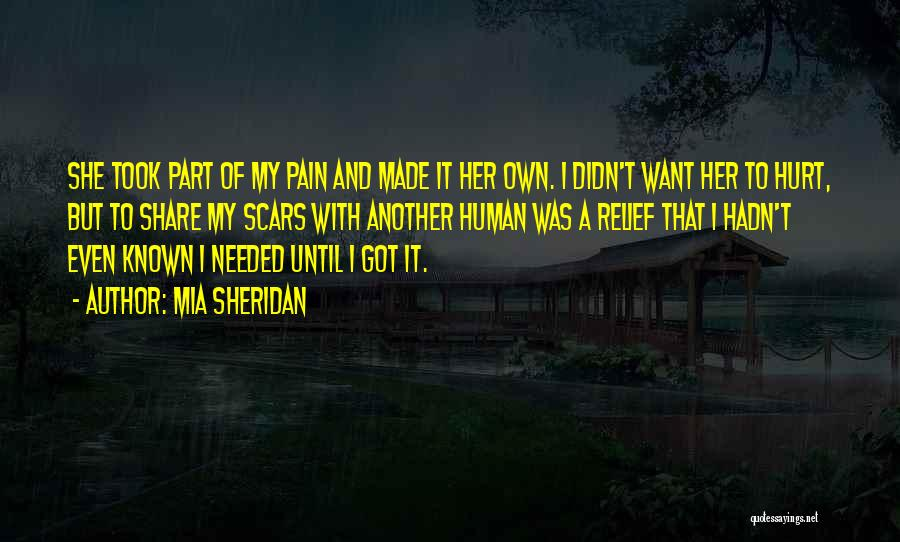 She Was Hurt Quotes By Mia Sheridan