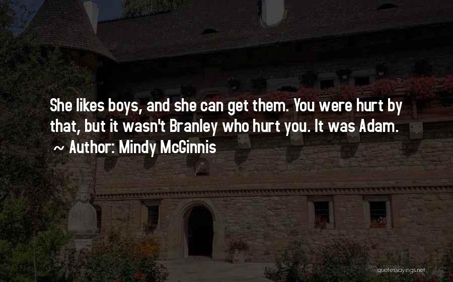 She Was Hurt Quotes By Mindy McGinnis