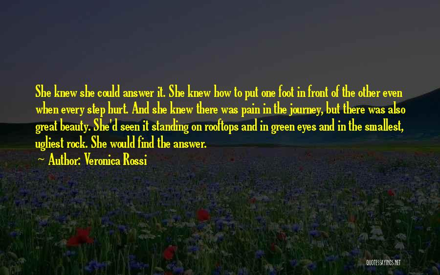She Was Hurt Quotes By Veronica Rossi