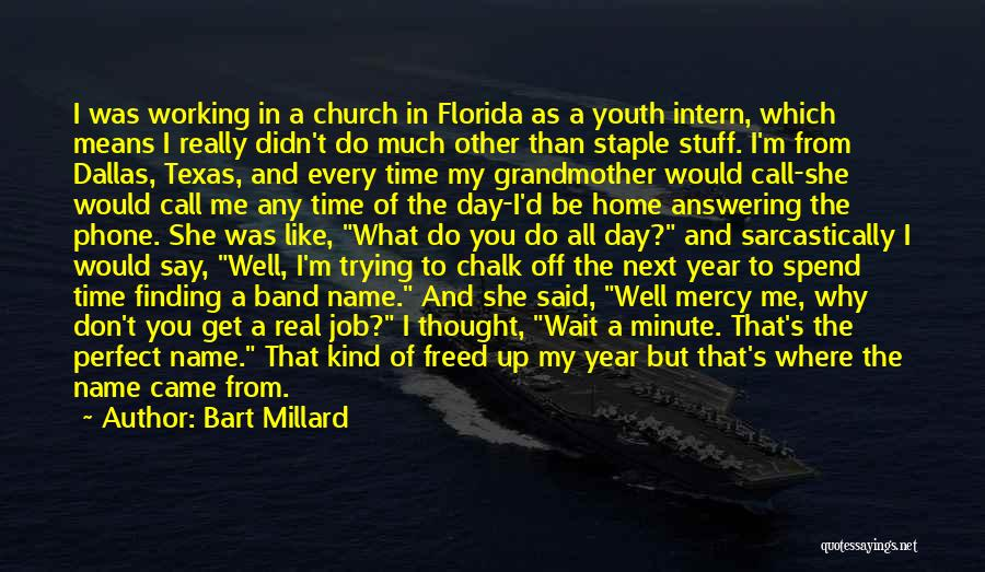 She Was Perfect Quotes By Bart Millard