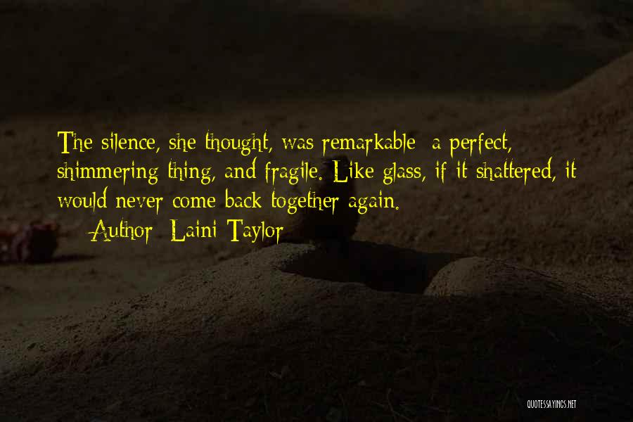 She Was Perfect Quotes By Laini Taylor