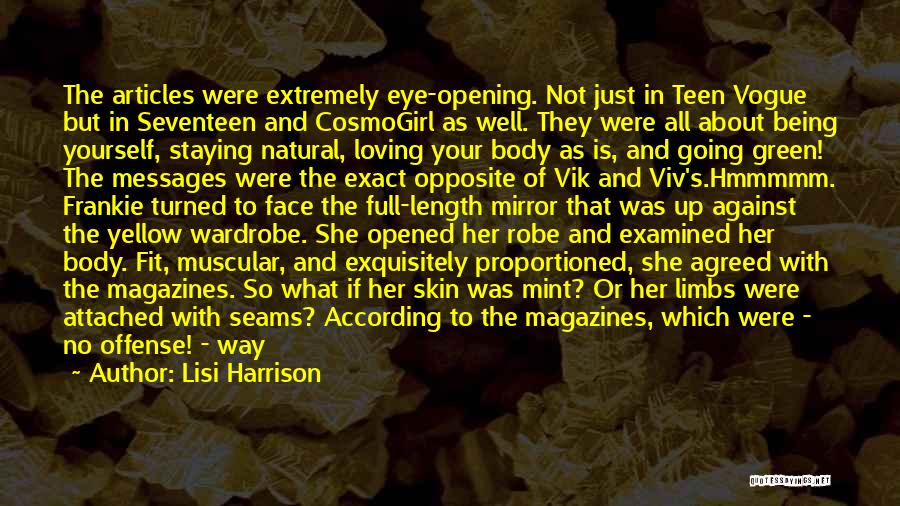 She Was Perfect Quotes By Lisi Harrison