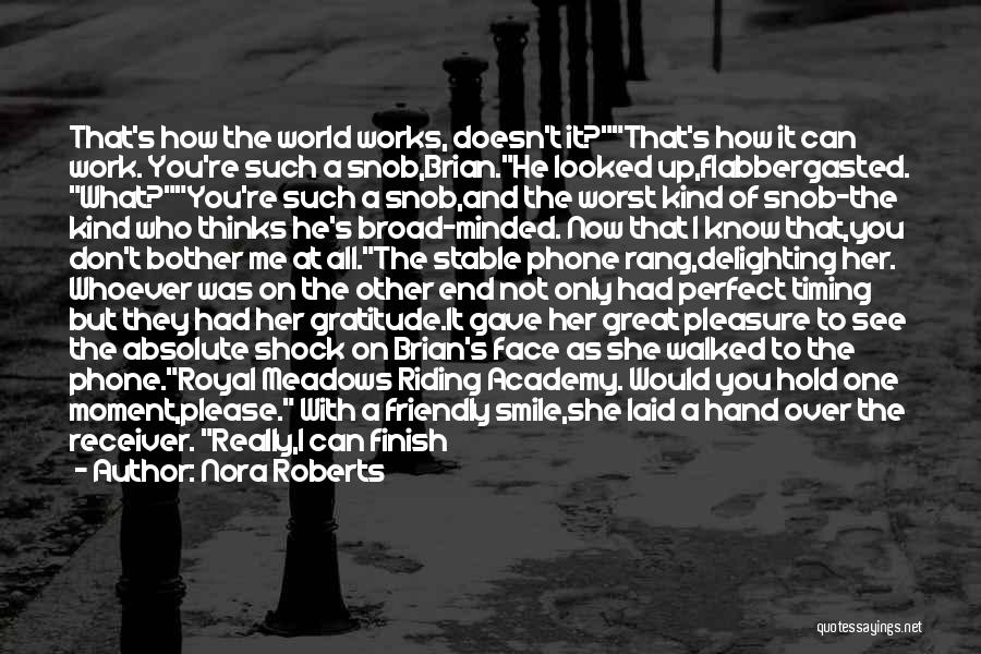 She Was Perfect Quotes By Nora Roberts