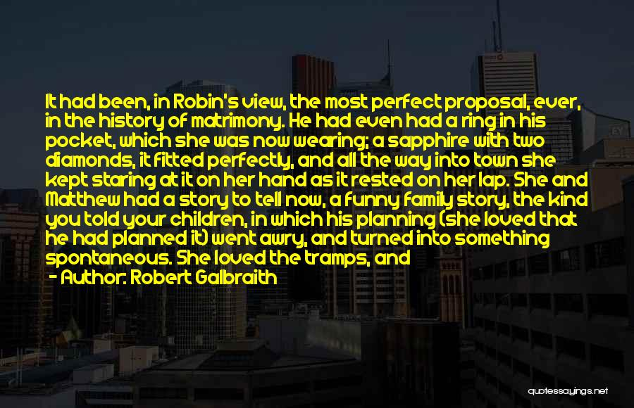 She Was Perfect Quotes By Robert Galbraith