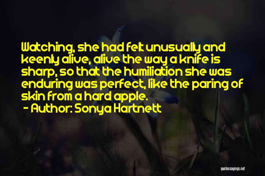 She Was Perfect Quotes By Sonya Hartnett