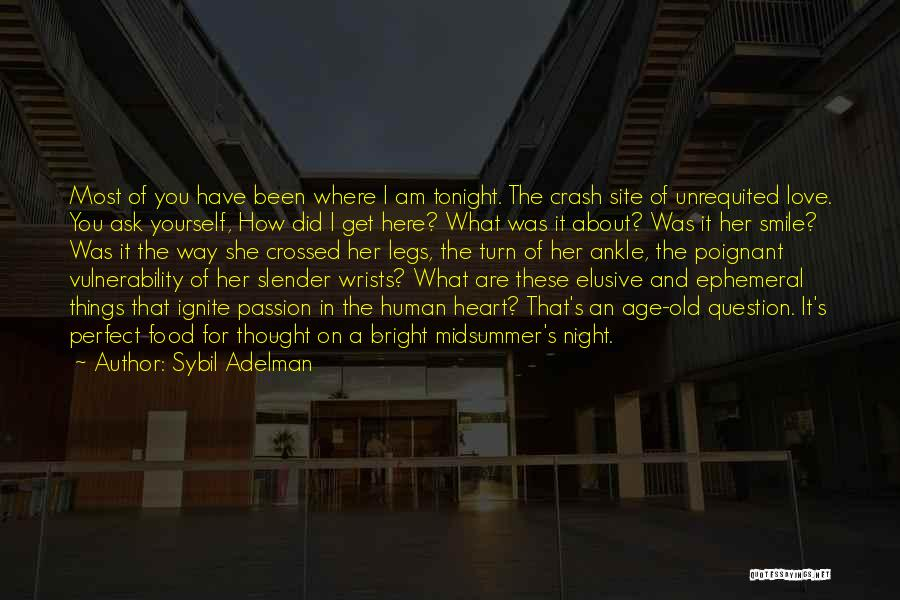 She Was Perfect Quotes By Sybil Adelman