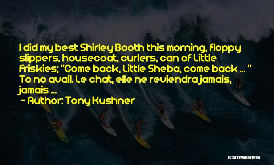 Sheba Quotes By Tony Kushner