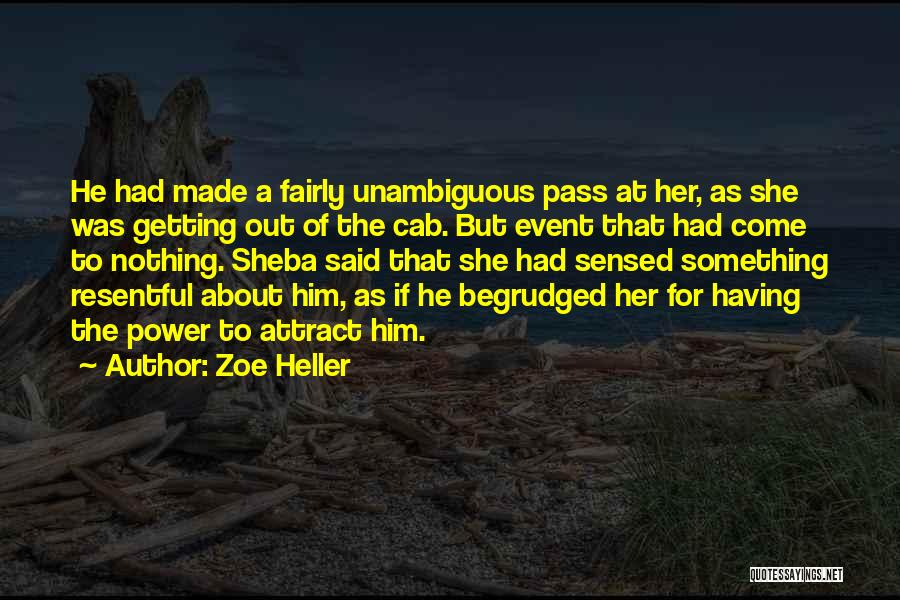 Sheba Quotes By Zoe Heller