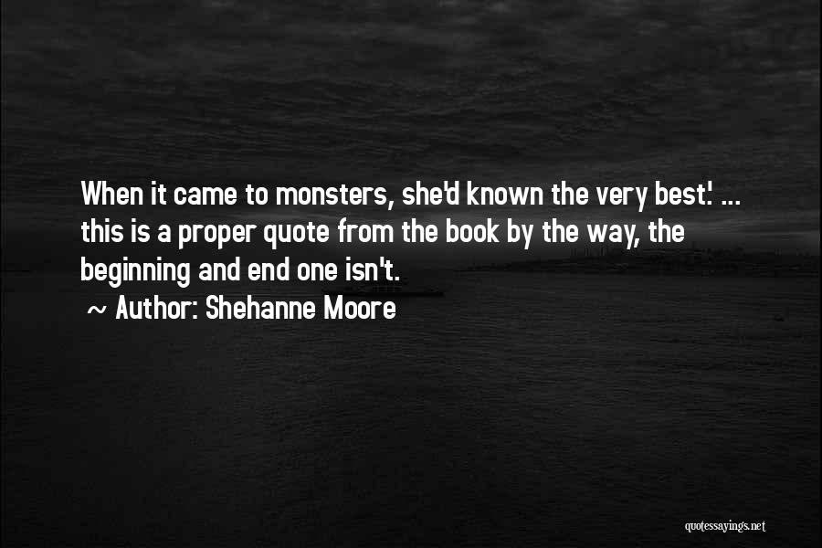 Shehanne Moore Quotes 908378