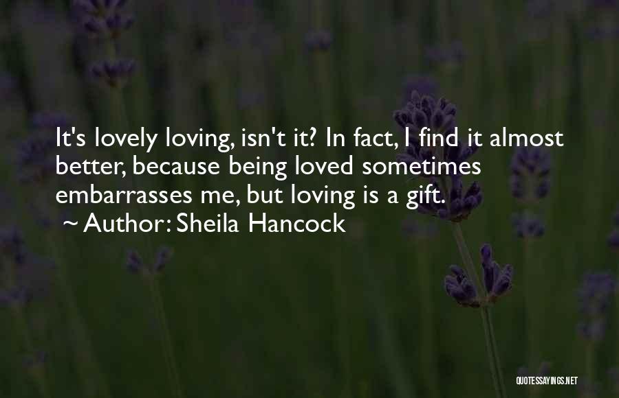 Sheila Hancock Quotes 210609