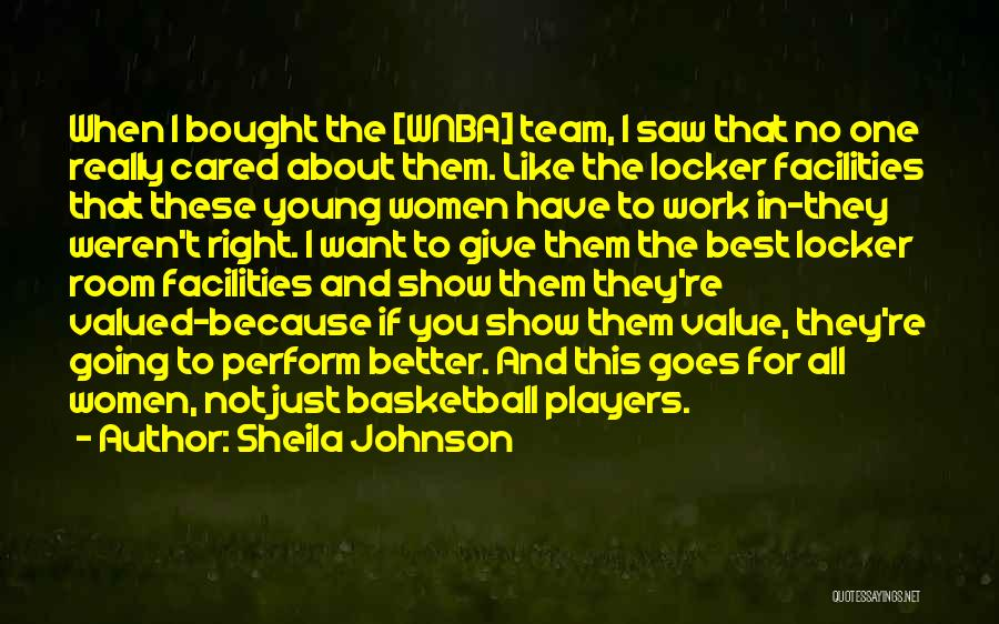 Sheila Johnson Quotes 1273092